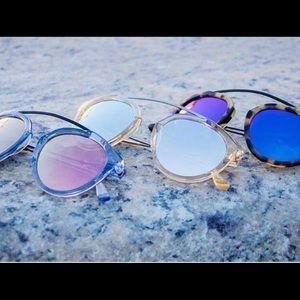 WESTWOOD LEANING BLUE ICE Sunglasses